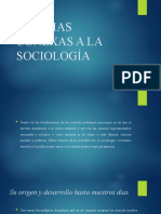 CIENCIAS CONEXAS A LA SOCIOLOGÍA