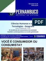 As tendências de consumismo da sociedade brasileira contemporânea no mundo globalizado.ppt