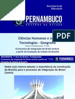 O processo de integração do Brasil central a partir da fundação da Cidade de Brasília