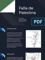 Fallas de Martinez y Palestina