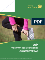 Guía Lesiones Deportivas