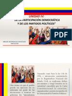 4. De La Participación Democrática