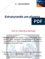 Estruturando um planeta - Geologia