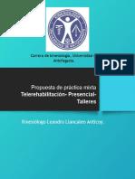 Presentación de Propuesta de Práctica Clínica.