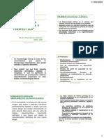 FARMACOLOGÍA ESPECIALIZADA Y TERAPEUTICA publicar 2009