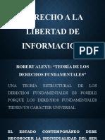 DERECHO A LA LIBERTAD DE INFORMACION