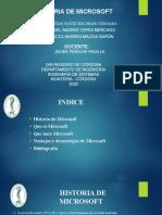 Diapositivas de La Historia de Microsoft