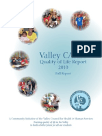 Valley CARES Quality of Life Report