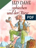 Dahl, Roald - Sophiechen und der Riese