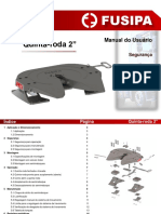 FUSIPA. Quinta-roda 2. Maddnual do Usuário. Segurança. Montagem. Operação. Manutenção.pdf