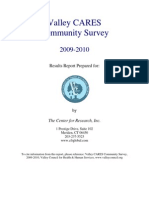 Valley CARES Community Survey 2009-2010