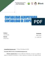 CONTABILIDAD AGROPECUARIA- DE COOPERATIVAS