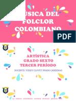 MÚSICA DEL FOLCLOR  COLOMBIANO