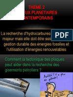 CHAPITRE 8 TECTONIQUE DES PLAQUES ET GEOLOGIE APPLIQUEE (1)