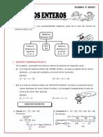 hoja de aplicacion para 6to grado  25-03-2020 (ÁLGEBRA)