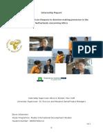 AIM_Internship Report Elena