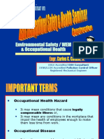 Topic B - OCCUPATIONAL HEALTH PROGRAMS