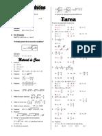 Ecuaciones cuadráticas I