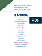AMALICIS Y MODIFICACION DE CONDUCTA TAREA 1 (Autoguardado).docx