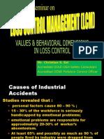 VALUES & BEHAVIORAL DIMENSIONS IN LCM