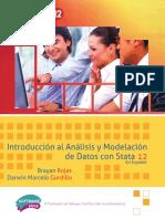 Introducción Al Análisis y Modelación de Datos Con Stata 12 en Español (Rojas y Gordillo).PDF · Version 1