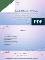 Presentación Electronica TICS