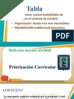 PPT PRIORIZACIÓN 2020