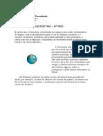 INTRODUÇÃO À GEOMETRIA-SOLIDOS GEOMETRICOS (TEXTO)