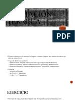 fisica dilatación pp