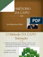 O MÉTODO DA CAPO_2016.pptx