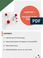 CHAPTER 1-VALENCE BOND THEORY
