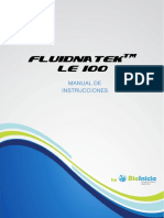 FLUIDNATEK LE-100 Manual de Usuario