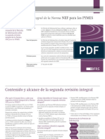 FCCPV - Análisis  Revisión integral de la Norma NIIF para las PYMES