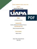 tarea 1 analisis y elaboracion de informes tecnicos