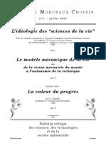 Notes et Morceaux Choisis