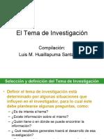El Tema de Investigación.ppt