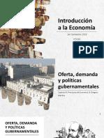 Presentación 2 Unidad 4_Oferta, demanda y políticas gubernamentales