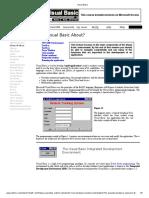 Visual Basic book