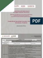 Laboratorista Clínico Cuadernillo Aprendizajes Esenciales