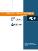 Integrar MDG Integration for Eclipse en Enterprise Architect