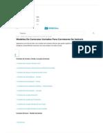 Modelos de contratos variados para corretores de imóveis
