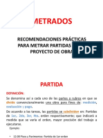 3. METTRADOS (Reglam, Recomend). Proc  Const I, 2020-I