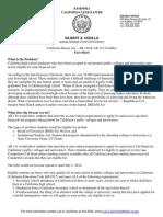 Dream Act - Fact Sheet
