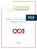 MANUAL EXAMEN CEPREUNMSM 2020-I