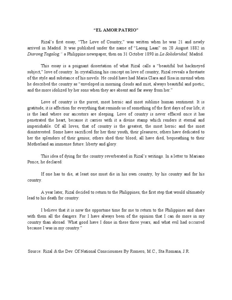 facts about jose rizal essay Life and works of jose rizal essay sample learning module rationale in this module, we will discuss the historical context of the rizal law before we tackle jose rizal's life and works, it is important discuss its legal basis and the issues surrounding it for us to understand why we need to study this course and what we must achieve in studying it.