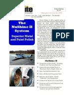 NuShineII Product Bulletin