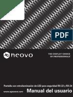 AG Neovo_RX-22_RX-24_Manual_V012_Spanish