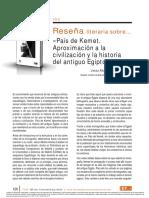 Dialnet-ResenaLiterariaSobrePaisDeKemetAproximacionALaCivi-6775568