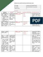 Planificación Unidad 4 sexto básico