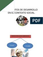 1.2 ÁMBITOS DE DESARROLLO EN EL CONTEXTO SOCIAL..PPT